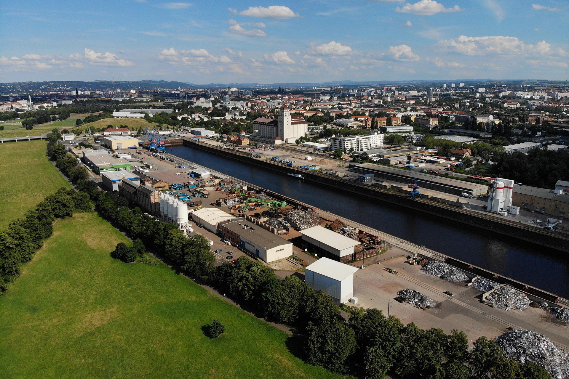 Dresdner Hafen